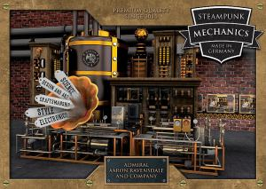 Cover: Steampunk Mechanics . Made in Germany