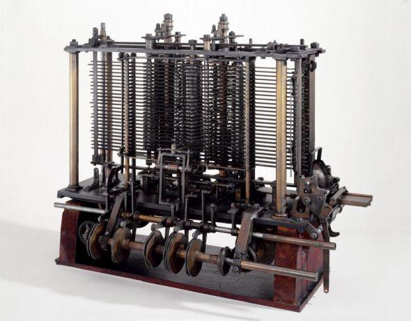 Modell von Babbages